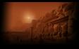 The Desert Profile Background