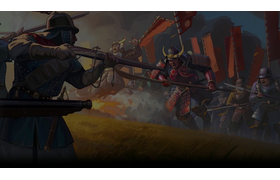 Charging Samurai