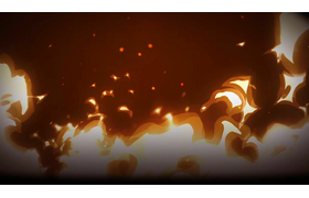 The Life and Suffering of Sir Brante: Flame Background