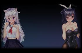 Sweet Neko & Bunny