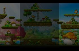 MapleStory Mushroom Profile Background