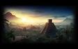 Mayan Pyramid Background