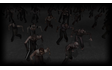 Zombies swarming