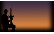 Soldier at Dusk