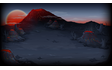 Volcano background