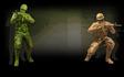 Mean Green - Green VS Tan