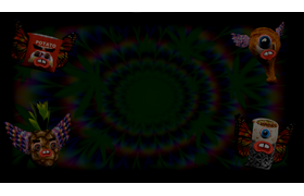 Animated Trippy Monsters